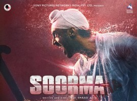 Check out the first look poster of Diljit Dosanjh starrer Soorma. The greatest comeback story of the hockey legend!