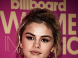 Singer Selena Gomez sizzles at Billboard Women in Music 2017 on November 30, 2017.