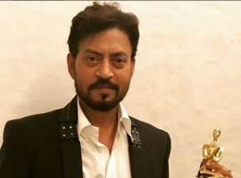 Irrfan was nominated alongside the likes of Shahrukh Khan for Raees, Varun Dhawan for Badrinath Ki Dulhaniya, Aamir Khan for Dangal. He went home with his award in hand which was held at an event in Mumbai last night.