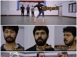 Vishal memes go viral in Social Media.