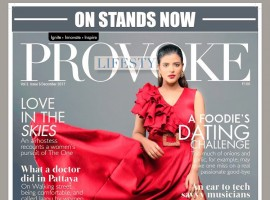 South Indian Actress Aishwarya Rajesh poses for Provoke Magazine.