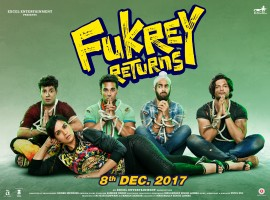 Fukrey Returns, releasing this December, is a sequel to Fukrey (2013) directed by Mrighdeep Singh Lamba and produced by Farhan Akhtar and Ritesh Sidhwani. The star cast includes Richa Chadha, Pulkit Sharma, Ali Fazal, Manjot Singh, Pankaj Tripathi, Priya Anand and Vishakha Singh.