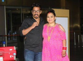Newly married Bharti Singh and Haarsh Limbachiyaa back from Goa.