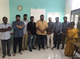 South Indian actor Ajith's upcoming movie Viswasam launched in Chennai. Director Siruthai Siva and others graced the event.