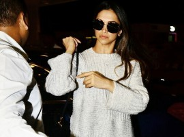 Virat-Anushka's Wedding: Actress Deepika Padukone leaves for Italy.
