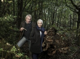 Actress Judi Dench says she created a