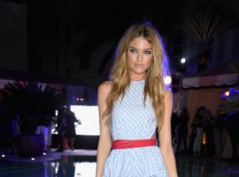 Model Martha Hunt attends the Maxim December Miami Issue Party Presented by blu on December 8, 2017 in Miami Beach.