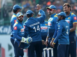After opting to field, Sri Lanka rode on career best figures of 4/13 from pacer Suranga Lakmal to restrict India to a lowly total of 112 runs. The right-arm seamer's previous best of 4/30 was against England in December 2014. Opener Upul Tharanga (49) then helped Sri Lanka chase down the target with a massive 29.2 overs to spare, taking a 1-0 lead in the three-match series. For India, pacers Bhuvneshwar Kumar (1/42), Jasprit Bumrah (1/32) and Hardik Pandya (1/39) scalped a wicket each.