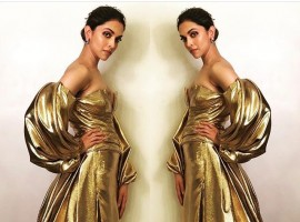 Padmavati actress Deepika Padukone at Lux Golden Rose Awards 2017.