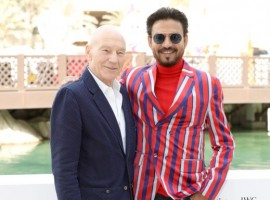 Sharing this honor with him were two other international bigwigs, Sir Patrick Stewart and Hollywood royalty, Cate Blanchett. Post the ceremony, Irrfan met the legendary actor Patrick Stewart and they earned an opportunity to discuss work and spend time in each other's company. Talking about being honored alongside the like of Sir Patrick Stewart, Irrfan said,