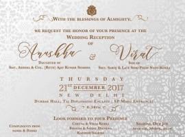 Actress Anushka Sharma and Virat Kohli's Wedding Reception to be held in Delhi On December 21.