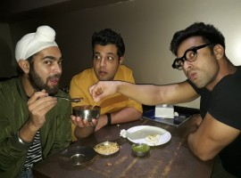 The Fukrey team of Pulkit Samrat, Varun Sharma, and Manjot Singh visited Bandra's Janta Bar to raise a toast to the overwhelming response the film has been garnering across quarters. Fukrey Returns opened to whopping 8.10 crores and clocked 32.2 crores during its first weekend, leaving the Fukra's with a reason to celebrate.