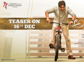 The much awaited Agnyaathavaasi teaser will be out on 16th December!