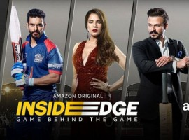 Inside Edge is Amazon India's first Original show which was streamed online on 10th July 2017. Inside Edge showcased the various facets of greed, ambition, corruption and of course cricket of the Powerplay league. The story embraced the journey of the players that thrives on passion, courage, and love. Directed by Karan Anshuman, the series starred Vivek Oberoi, Richa Chadha, Tanuj Virwani, Amit Sial, Siddhant Chaturvedi, Sanjay Suri, Sarah Jane Dias and Sayoni Gupta among others. From being Amazon India's first original show alongside marking the debut of Excel Entertainment in web series, Inside Edge had created a rage this year.