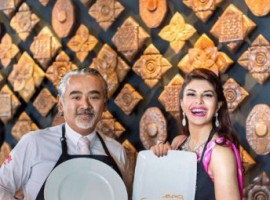 Jacqueline Fernandez is excited about opening her first restaurant in her in her hometown Colombo. The Kaema Sutra restaurant will serve Sri Lankan cuisine.