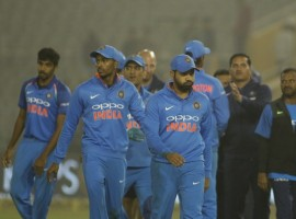 A disciplined India humbled Sri Lanka by 141 runs in the second One-day International and squared the three-match rubber 1-1 at the Punjab Cricket Association I.S. Bindra Stadium here on Wednesday.