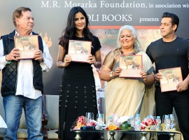Bollywood actor Salman Khan launched photographer Bina Kak's book
