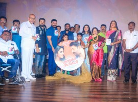 Tamil movie Bhaskar Oru Rascal audio launch event held in Chennai. Celebs like Arvind Swami, Amala Paul, Baby Nainika, Namitha and others graced the event.