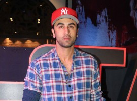 Ranbir Kapoor spotted at Star Wars: The Last Jedi special screening at PVR in Lower Parel, Mumbai.