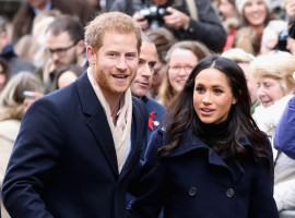 The couple confirmed their engagement last month and said the wedding ceremony would take place on a Saturday at St. George's Chapel, Windsor Castle.