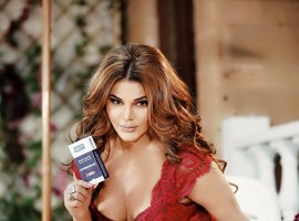 Rakhi Sawant hot photoshoot for condom ad.