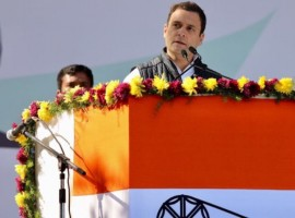 The process of his election as the new Congress chief was completed after the Central Election Authority President Mullapally Ramachandran handed over the Certificate of Election to Rahul Gandhi in a ceremony at 24, Akbar Road, housing the party headquarters.