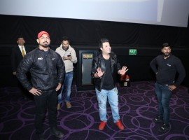 Varun Sharma visited a multiplex in Chandigarh to witness the live reactions to his comic entertainer 'Fukrey Returns'. The actor not only watched the film with the audience but also interacted with the fans and even clicked pictures with them. Varun Sharma was overwhelmed by the love and appreciation showered on him by the audience.