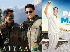 This Republic Day would witness the clash between the hit director-actor duo Neeraj Pandey and Akshay Kumar. The date 26th January has been a fascinating day for Bollywood. Interestingly we will be witnessing the biggest clashes of the year with the two major films 'Aiyaary' and 'Padman' battling against each other.
