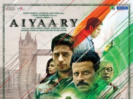 The makers unveiled the first look poster Aiyaary movie starring Sidharth Malhotra, Manoj Bajpayee, Rakul Preet Singh and Anupam Kher in the lead role. 'Aiyaary' revolves around two strong-minded army officers sharing a mentor-protege bond who have completely different views, yet right in their own ways.
