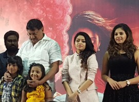 Tamil movie Balloon trailer launch event held in Chennai. Celebs like Anjali, Janani Iyer, Stunt choreographer Dhilip Subbarayan, Editor Ruben, Lyricist Arunraja Kamaraj and others graced the event.