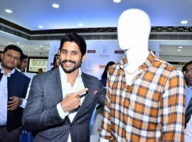 Actor Naga Chaitanya launches Anunique Range of Platinum Men's Jewellery at Joyalukkas.