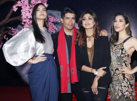 Celebs like Shilpa Shetty, Diana Penty, Sophie Choudry, Manish Malhotra at Hong Kong Club launch Party in New Delhi.