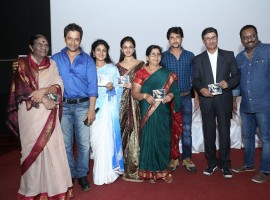 Prema Baraha audio launch event held in Bangalore. Celebs like Chandan Kumar, Aishwarya Arjun, Arjun Sarja, Sadhu Kokila graced the event.