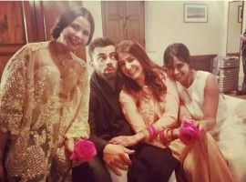 Virat Kohli has wife Anushka Sharma gushing with joy in latest pictures.