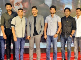 Dil Raju's Production Company Sri Venkateswara Creations 2017 celebrations event held at Hyderabad. Celebs like Allu Arjun, Nani, Anupama Parameswaran, Mehreen Pirzada, Jayasudha, Vamsi Paidipally graced the event.
