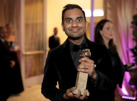 Indian-American actor-comedian Aziz Ansari has won Best Performance by an Actor in a Television Series - Musical or Comedy for