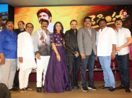 Jai Simha pre-release event held in Hyderabad. Celebs like Nandamuri Balakrishna, Natasha Doshi, Brahmanandam graced the event.