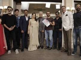 Superstar Aamir Khan gave the mahurat clap for the upcoming film
