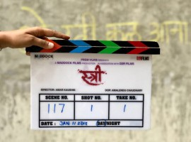 Rajkummar on Thursday shared a photograph of the film's clapboard. He captioned it: