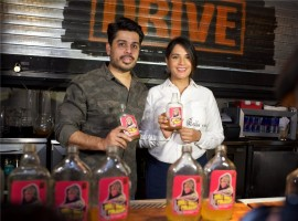 Richa Chadha graced a popular lounge in Mumbai with her presence to inaugurate a specially designed cocktail after her famous character Bholi Punjaban from Fukrey franchise.