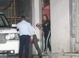 Salman Khan's rumoured girlfriend Iulia Vantur spotted in Bandra while coming out from a clinic