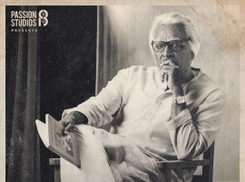 Vijay Sethupathi is looking stunning in Seethakathi first look poster, directed by Balaji Tharaneetharan. The poster is released on Makkal Selvan Vijay Sethupathi's birthday.