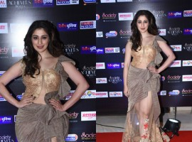 Julie 2 actress Raai Laxmi stuns at Society Achievers Awards 2018 in Mumbai.