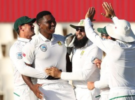 South Africa rode on debutant paceman Lungi Ngidi's maiden five-wicket haul to thrash an underwhelming India by 135 runs on the final morning of the second cricket Test at the SuperSport Park here on Wednesday. With the win, South Africa have taken an unassailable 2-0 lead in the three-match rubber even as Virat Kohli lost his first Test series as India skipper.