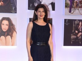 Sangeeta Bijlani poses for the cameras during Dabboo Ratnani's calendar launch event at JW Marriott Hotel in Mumbai on January 17, 2018.
