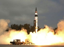 India's indigenously-developed nuclear-capable Agni-V inter-continental ballistic missile, which can reach targets as far as Beijing, was successfully test fired on Thursday. The test-firing was done off the Odisha coast.