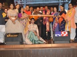 TSR Kakatiya Cultural Festival event held in Hyderabad. Celebs like Nandamuri Balakrishna, Mohan Babu, Shriya Saran and Manchu Lakshmi graced the event.