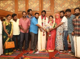 South Indian Actor Soundararaja engaged to Tamanna on Saturday morning (21 January) in Chennai.