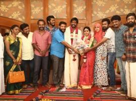 South Indian Actor Soundararaja engaged to Tamanna on Saturday morning (21 January) in Chennai.