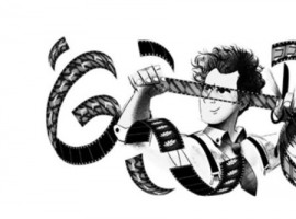 The doodle shows a series of film rolls in movement depicting iconic imagery in some of Eisenstein's films. It is a reminder of his enduring contributions to cinema. A closer look into the doodle shows sequencing of a number of images in a continuous loop creating the effect of a montage. The doodle also shows Sergei Eisenstein, holding a film roll and a scissors depicting a cut or an edit. The Russian genius changed the way films were made as early as in the 1920s. The avant-garde filmmaker was born on this day in 1898. He left behind a rich legacy that is complex and in many ways, immeasurable. Film montage is an editing technique that pieces together a series of frames to form a continuous sequence that is used at several defining moments in films -- you can easily recall some of it in